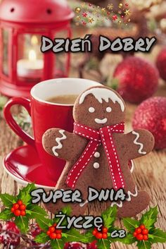 Good Morning Gif, Good Morning Friends, Merry Christmas Eve, Christmas Ornaments, Weekend Humor, Morning Blessings, Coffee Time, Gingerbread Cookies, Holiday Decor