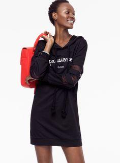Team Twik | Sixth June Les Parisiennes Hooded Dress available at La Maison Simons. #sport #cute #fashion