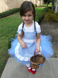 88 of the Best DIY No-Sew Tutu Costumes - DIY for Life  Dorothy