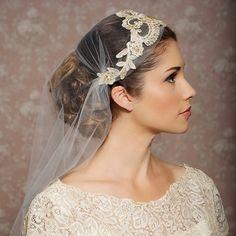 Wedding Notebook: Juliet Cap Veils inspired by Kate Moss - Day Bag ...