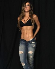 GLISTENING RIPPED ABS of Colombian #Fitness model Anllela Sagra : if you LOVE Health, Gym Inspiration & Fitspo - you'll LOVE the #Motivational designs at CageCult Fashion: http://cagecult.com/mma