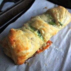 Spinach and Brie Puff Pastries by cookingactress