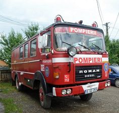 Roman 8135 FA - Socialist Republic of Romania Fire Trucks, Cars And Motorcycles, Vehicles, Firefighters, Firefighter, Emergency Vehicles, Fire Truck, Firetruck, Vehicle