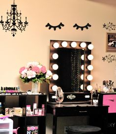 Cute Vanity Table Makeup Vanity Table Mirror Lights