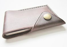 Wallet Leather Mini Wallet. Wallet Leather Card by johnbrandonusa