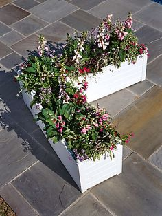 L-Shaped Patio Planter: Terrazza L-Conversion Kit | Gardenerrs.com