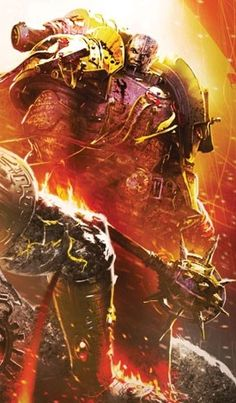 Lorgar Aurelian, Primarch of the Word Bearers Legion, Chosen of Chaos Undivided and Bearer of the Word
