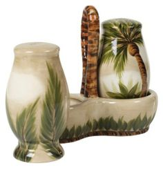 Tabletops Unlimited Inc. Kona Salt/Pepper/Holder by Tabletops Unlimited Inc.. $16.09. Imported. While your guests wine and dine, mix and mingle, WOW them with a distinguish sense of art while preparing appetizers on the Tabletops Unlimited Kona Ceramic. Includes salt & pepper shakers along with the ceramic holder.. Save 30%!