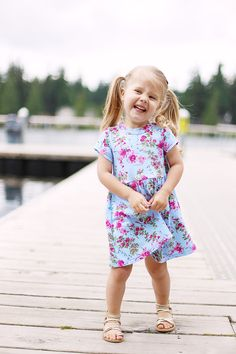 SUNCADIA FREE GIRL'S KNIT DRESS PATTERN