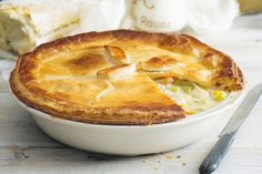 It's famous for being footy-game fare, but with a little know-how you can turn this classic chicken pie into a family favourite.
