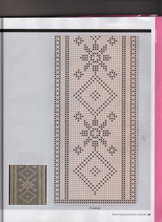 Para ti guia de puntos crochet filet - Isabel Cristina Mejia - Picasa Web Albums