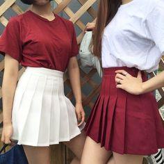 skirt tumblr american apparel tennis skirt pleated