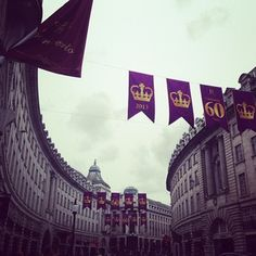 Regents Street ??  #london #town #regentstreet #QueensDiamondJubilee #happy #shopping #hollister #gillyhicks #swarovski #with #mum #purple #street #instagood #followforfollow #likeforlike #xxo by @livvypop8 Queen's Coronation, Gilly Hicks, 60th Anniversary, London England, Happy Shopping, Flags, Hollister, Swarovski, Purple