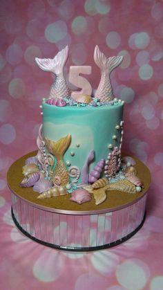 A Mermaid Cake for Ella and Mahli