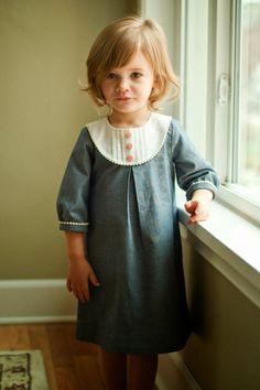 A Stitch a Day: A Chambray Playdate Dress