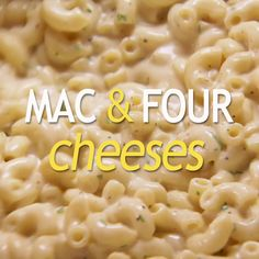 Ree's mac and (not one, but FOUR) cheese dish is a dinner treat that can be baked or made over the stove! (Bake Macaroni And Cheese Pioneer Woman) Mac Cheese Recipes, Pasta Recipes, Dinner Recipes, Cooking Recipes, Healthy Recipes, Macaroni Recipes, Egg Recipes, Recipies, Herd