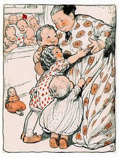 From The Kewpies and Their Book, 1911.