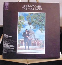Johnny Cash Lp At The Holy Land Near Mint #AlternativeCountryAmericanaContemporaryCountryCountryPopEarlyCountryNashvilleSoundTraditionalCountry