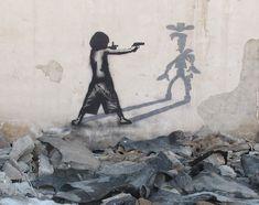 Street art from Iran