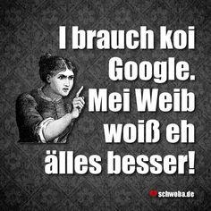 Gschiggde Sach! #frau #mann #weib #schwäbisch #schwaben #schwoba