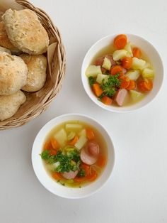 Mormors potetsuppe — FAMILIEMAT Cantaloupe, Soup, Fruit, Ethnic Recipes, Soups