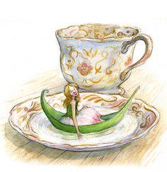 Thumbelina - Petra Brown, Children's Book Illustrator