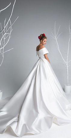 Eva Lendel - Eva Bridal Collection, Simple wedding dress,Mermaid wedding dress,wedding dresses,beautiful long sleeves wedding dress,wedding gown #weddingdress #weddinggown #simpleweddingdress