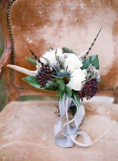 Winter wedding bouquet #winterwedding #winter #inspiration