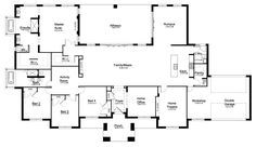 The forever home ❤️ Mirage - Floorplan by Kurmond Homes - New Home Builders Sydney NSW (move laundry to WIL and extend pantry) Luxury House Plans, New House Plans, Dream House Plans, House Floor Plans, Dream Houses, Custom Home Builders, Custom Homes, Storey Homes, Ranch Style Homes