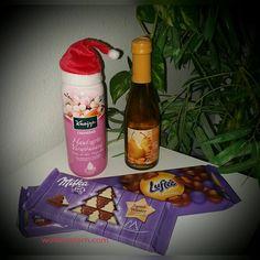 Wie versprochen Starte ich nun ein kleines Nikolaus~Gewinnspiel Und dieses kann einer von euch Gewinnen Kneipp Cremebad~Hautzarte Verwöhnung Wein von Ralf Köth~Birne mit Mandel Secco,200ml Milka Lu...
