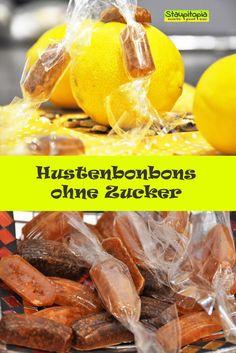 Es gibt fast nichts leichteres als Hustenbonbons selber zu machen und das schönste dabei ist: Wir können komplett auf Zucker verzichten und frische Zutaten, ganz nach unserem Geschmack, verwenden.