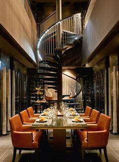 Luxury dining room