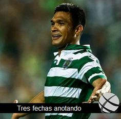 Teo Gutiérrez marca nuevamente y suma su octava anotación en #Primeiraliga #Sporting tras ganar 3-1 continúa con la presión al #Benfica en la lucha por el título en #Portugal #Colombia