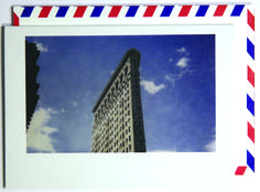 Oh, the wonder of this one.  Polaroid shot in New York City, USA. Each notecard is 3.5 x 4.9, printed on crisp, white 14 pt. stock and tucked into a nostalgic airmail envelope.