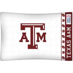 Texas A&M Aggies Team Logo Pillowcase
