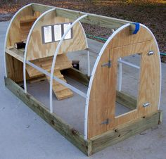Chicken Coop - Call me crazy but I think this could be a pretty sweet kids fort or green house for momma;) Building a chicken coop does not have to be tricky nor does it have to set you back a ton of scratch.