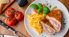 Cordon Bleu recept | APRÓSÉF.HU - receptek képekkel Hungarian Recipes, Cordon Bleu, My Recipes, Thai Red Curry, Meal Prep, Goodies, Meals, Dishes, Chicken