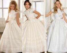 Así son los vestidos de Comunión de Hannibal Laguna, Francis Montesinos y Devota & Lomba