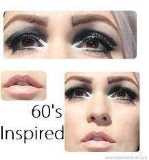 Image result for 60's/makeuplook