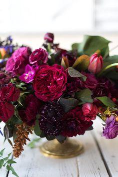 Wedding Flowers: Deep Jewel-Toned Designs at The St. Regis in Washington, D.C. » Sweet Root Village Blog