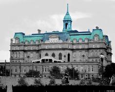 City Hall in Vieux Port de Montréal.