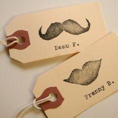 An idea for Wedding Place Cards