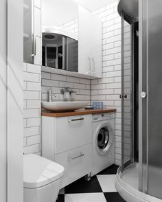 Home Interior Design .Home Interior Design Modern Bathroom Sink, Tiny House Bathroom, Bathroom Design Small, Laundry In Bathroom, Bathroom Layout, Bathroom Interior Design, Kitchen Design, Bathroom Flooring, Bathroom Furniture