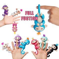 DIY Christmas Gift Finger Baby Animal Pets Swing Climbing Frame Playset Ta NEW