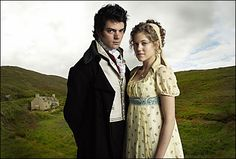 Dominic Cooper as John Willoughby and Charity Wakefield as Marianne Dashwood in Sense and Sensibility (2008).