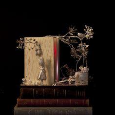 Book sculpture Les petites filles modeles... by ~AnemyaPhotoCreations Artisan Crafts / Folding & Papercraft / Papercutting & Scherenschnitte
