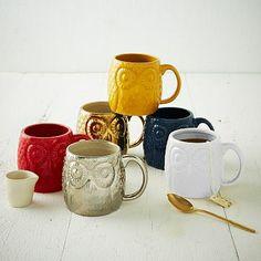 Figurative Owl Mug #westelm