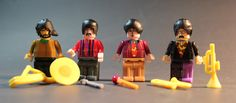 K'Nex Goes Rock 'n Roll: Yellow Submarine Beatles