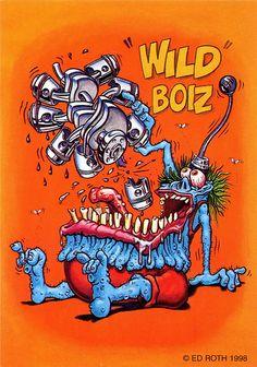 rat fink ed big daddy roth wild boiz | Flickr - Photo Sharing!
