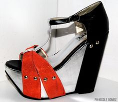 #shoes Shoe Outlet, Toms, Heels, Fashion, Summer Time, Heel, Moda, Fashion Styles, High Heel